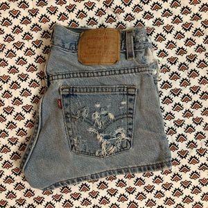 Vintage Levi's Jean Shorts :)